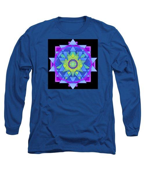 Inner Light Mandala Long Sleeve T-Shirt