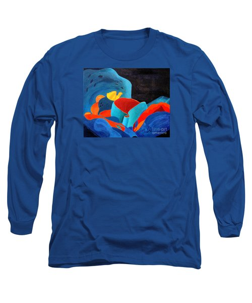 Inorganic Incandescence Long Sleeve T-Shirt by Lynne Reichhart
