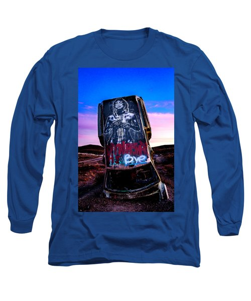 Long Sleeve T-Shirt featuring the photograph International Car Forest Of The Last Church 4 by James Sage