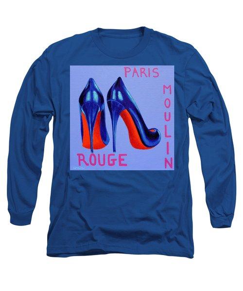 Irish Burlesque Shoes Long Sleeve T-Shirt