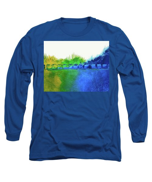 Long Sleeve T-Shirt featuring the painting Is It Any Wonder by Everette McMahan jr