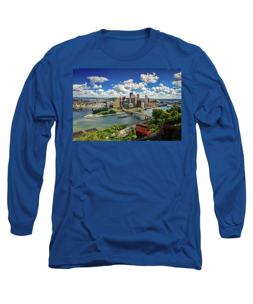Long Sleeve T-Shirt featuring the photograph It's A Beautiful Day In The Neighborhood by Emmanuel Panagiotakis