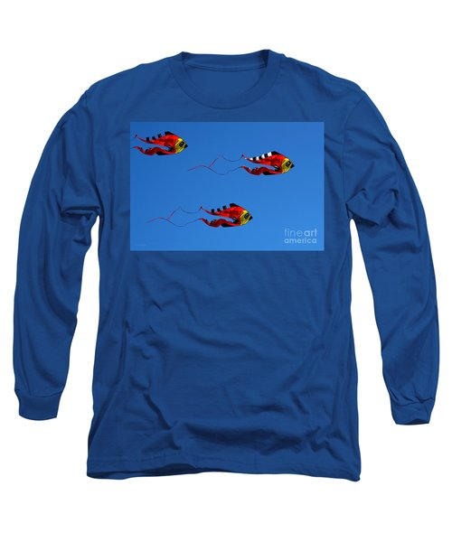 It's A Kite Kind Of Day Long Sleeve T-Shirt