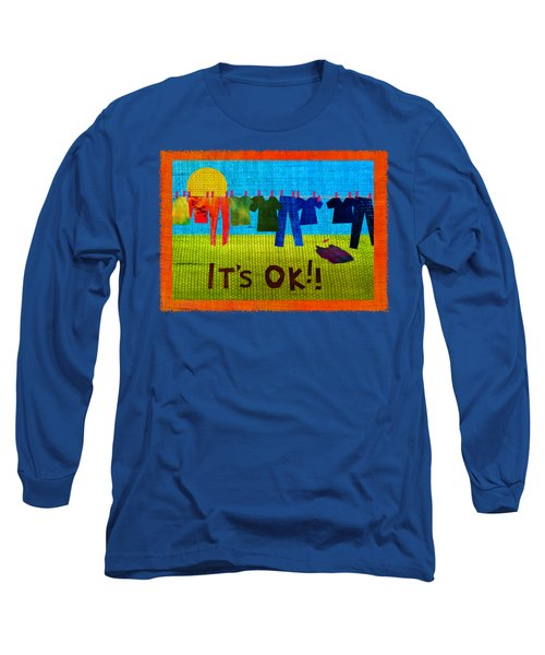 Ok Transparent Long Sleeve T-Shirt