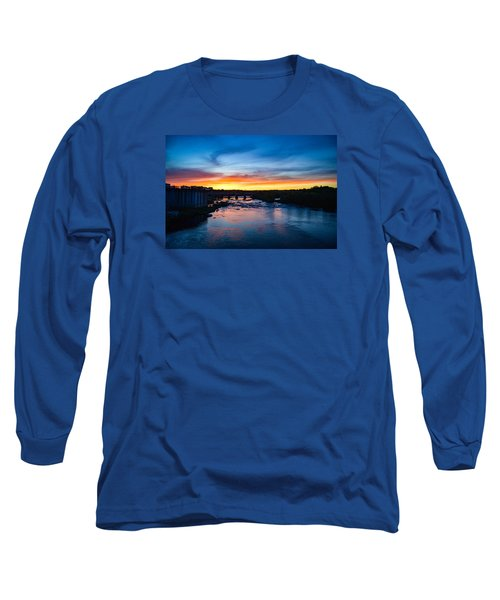 James River Sunset Long Sleeve T-Shirt