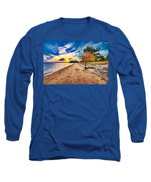 James River Sunset Long Sleeve T-Shirt