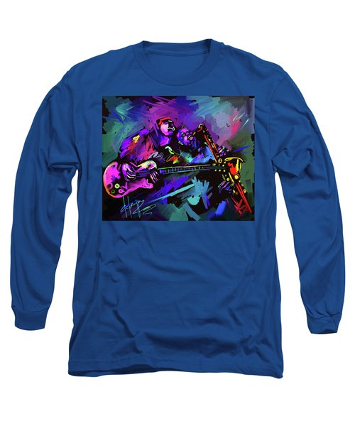 Jammin' The Funk Long Sleeve T-Shirt by DC Langer