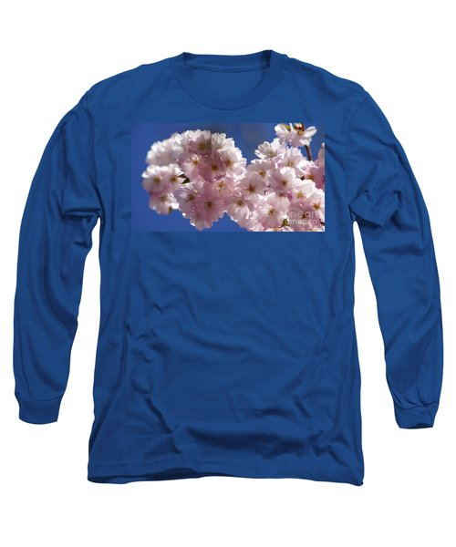 Japanese Flowering Cherry Prunus Serrulata Long Sleeve T-Shirt