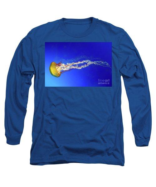 Japanese Sea Nettle Jellyfish Long Sleeve T-Shirt