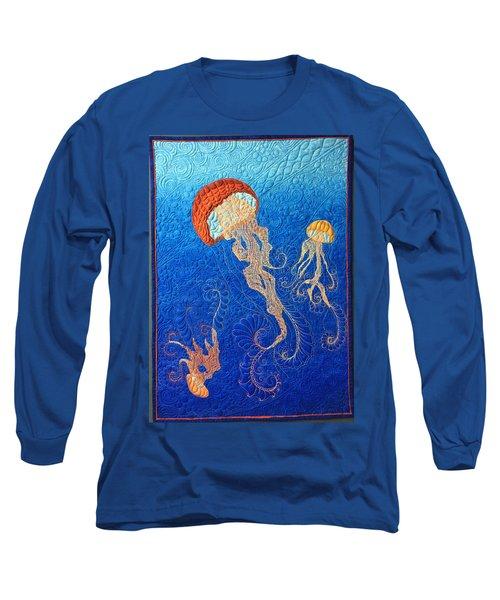 Jellies Of The Sea Long Sleeve T-Shirt