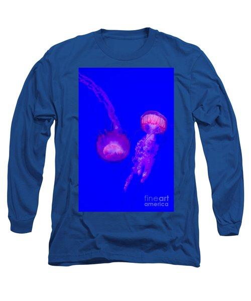 Jellyfish Pair-8767 Long Sleeve T-Shirt