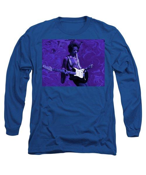 Jimi Hendrix Purple Haze Long Sleeve T-Shirt