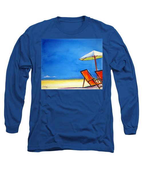 Long Sleeve T-Shirt featuring the painting Join Me by Suzanne McKee