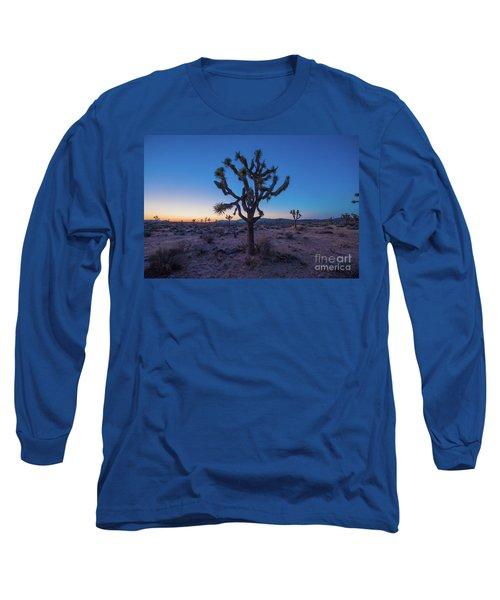 Joshua Tree Glow Long Sleeve T-Shirt by Robert Loe