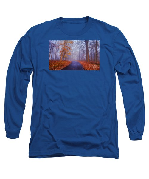 Journey Continues Long Sleeve T-Shirt by Rima Biswas