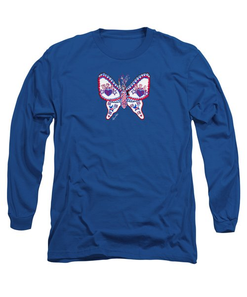 July Butterfly Long Sleeve T-Shirt