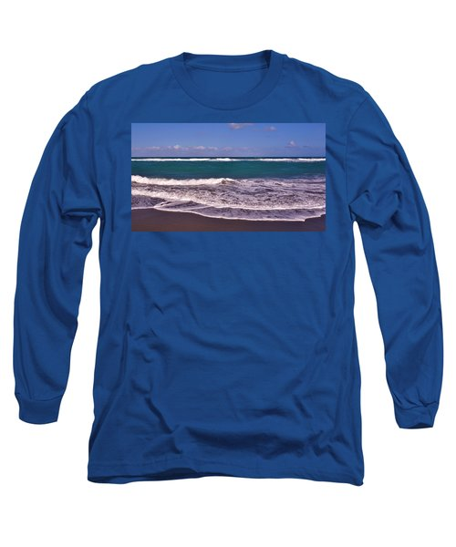 Jupiter Island Beach Long Sleeve T-Shirt by John Wartman