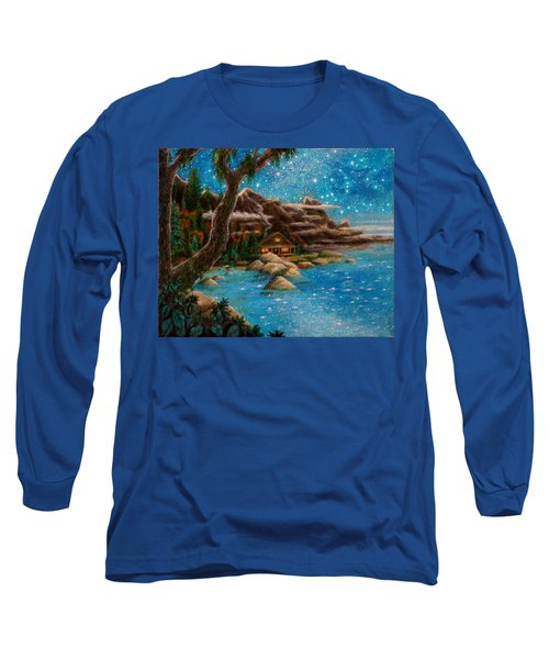 Just Before Dawn Long Sleeve T-Shirt by Matt Konar