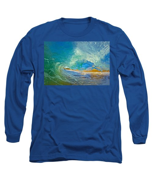 Kaanapali Wave Long Sleeve T-Shirt by James Roemmling