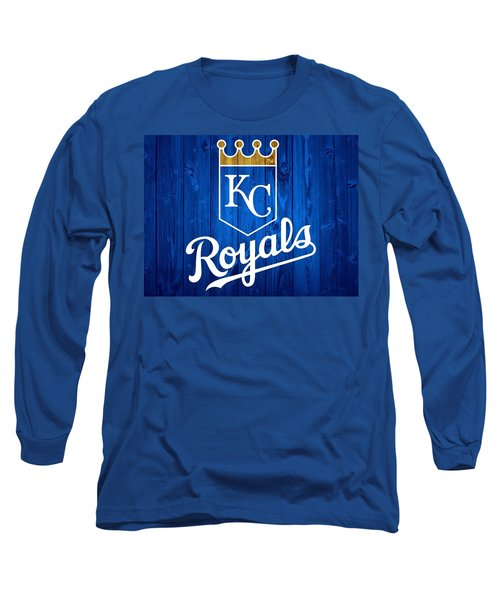Kansas City Royals Barn Door Long Sleeve T-Shirt