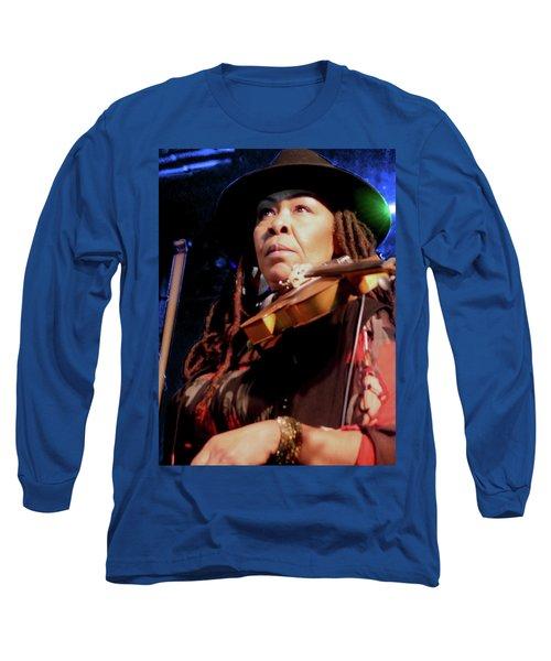 Karen Briggs 2017 Hub City Jazz Festival - Pause Long Sleeve T-Shirt