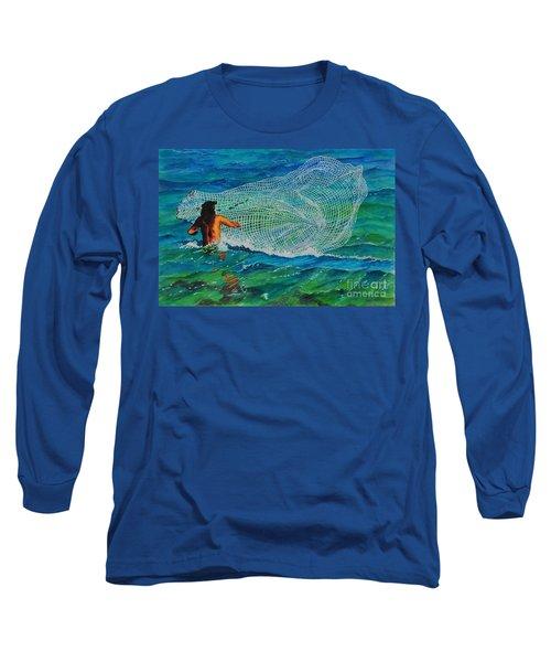 Kauai Fisherman Long Sleeve T-Shirt