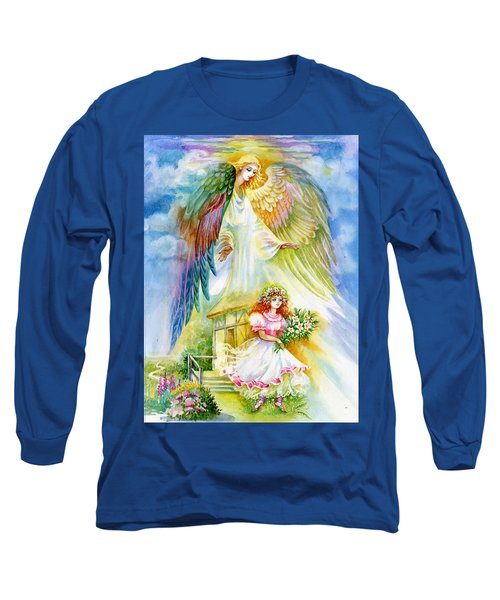 Keep Her Safe Lord Long Sleeve T-Shirt by Karen Showell