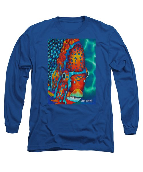 King Angelfish Long Sleeve T-Shirt