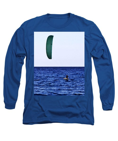 Kite Board Long Sleeve T-Shirt