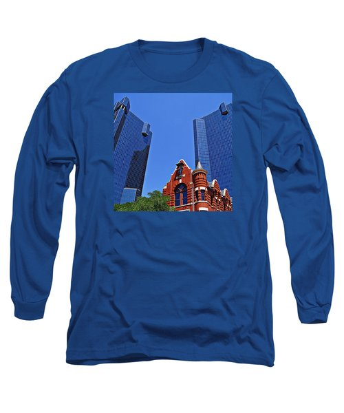 Long Sleeve T-Shirt featuring the photograph Knights Of Pythias Castle Hall by Kathy Churchman
