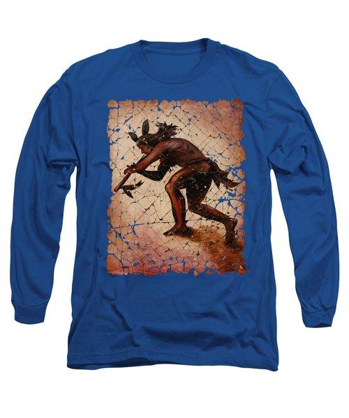 Kokopelli Flute Player Long Sleeve T-Shirt