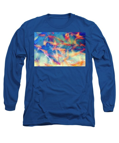 Kolorful Koi Series Long Sleeve T-Shirt by Joseph S Giacalone