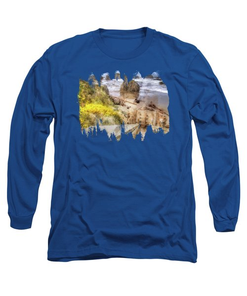 Kronenberg County Park Stairwell Two Long Sleeve T-Shirt