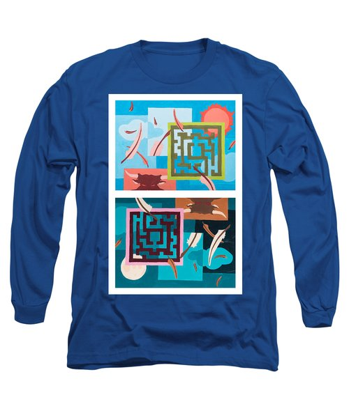 Labyrinth Night And Day Long Sleeve T-Shirt