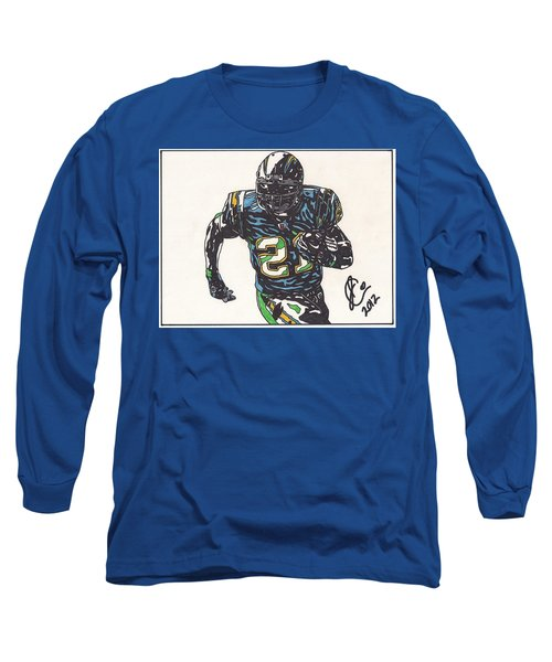 Ladainian Tomlinson 1 Long Sleeve T-Shirt by Jeremiah Colley