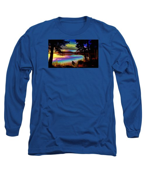 Lake Canoe Long Sleeve T-Shirt
