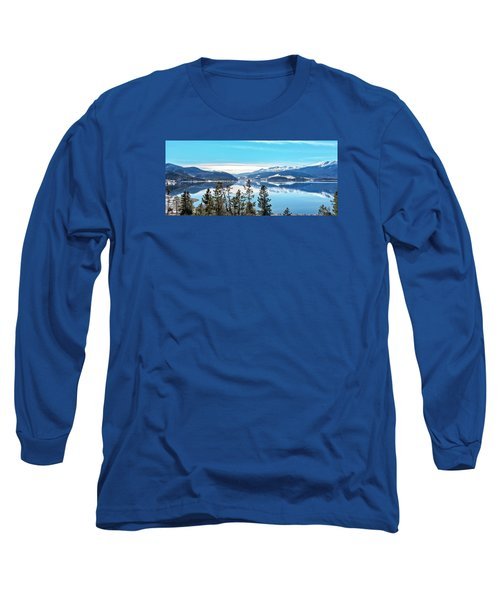 Lake Dillon Colorado Long Sleeve T-Shirt by Stephen  Johnson
