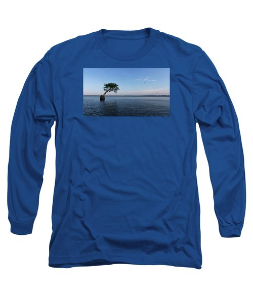 Lake Disston Cypress #2 Long Sleeve T-Shirt by Paul Rebmann