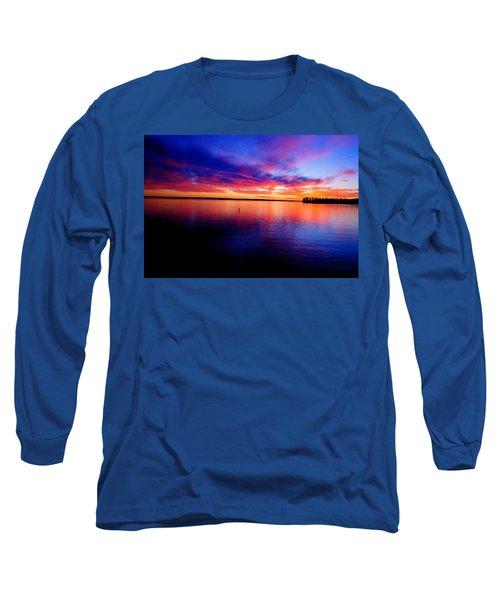 Lake Murray Sunset 21 Long Sleeve T-Shirt