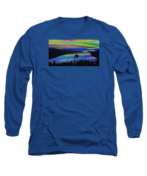 Lake Sunset Long Sleeve T-Shirt