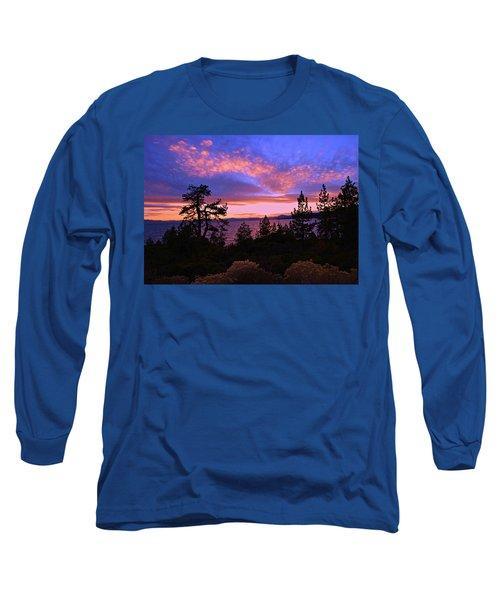 Lake Tahoe Crescendo Long Sleeve T-Shirt