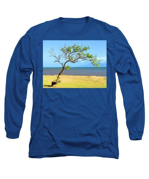 Lanai Leaning Long Sleeve T-Shirt