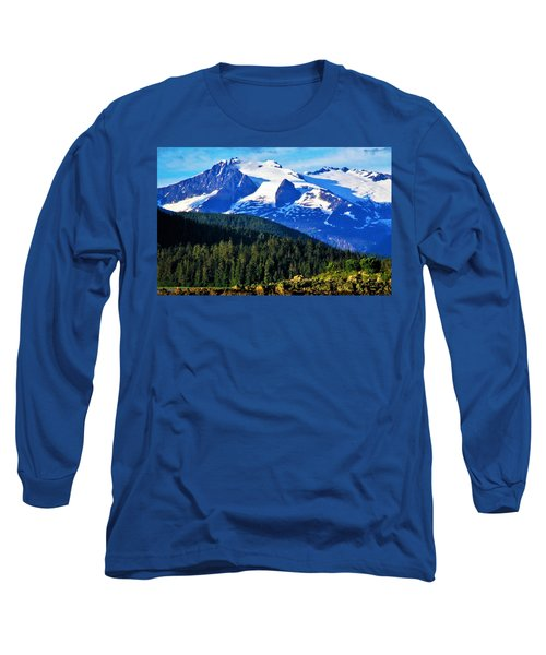 Earth Long Sleeve T-Shirt by Martin Cline