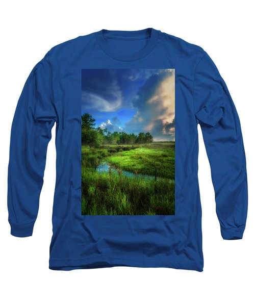 Long Sleeve T-Shirt featuring the photograph Land Of Milk And Honey by Marvin Spates