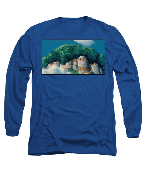 Laputa Castle In The Sky Long Sleeve T-Shirt