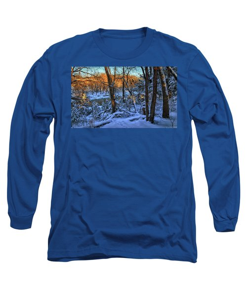 Late Afternoon Winter Light Long Sleeve T-Shirt