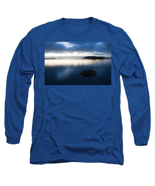 Late Evening On The Hikshari Long Sleeve T-Shirt by Mark Alder