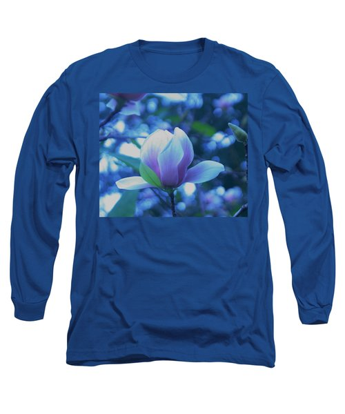 Long Sleeve T-Shirt featuring the photograph Late Summer Bloom by John Glass