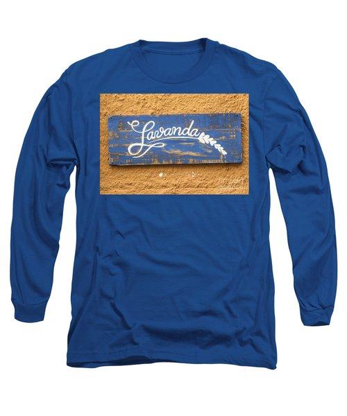 Lavanda Long Sleeve T-Shirt