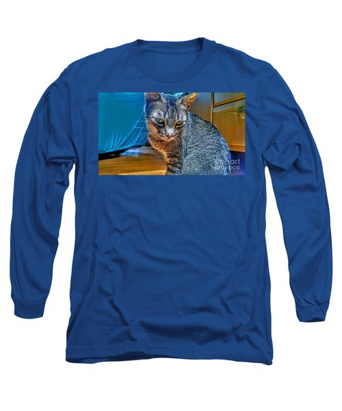 Le Chat Bleu Long Sleeve T-Shirt